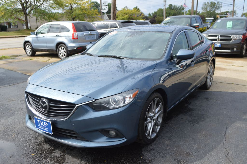 2014 MAZDA 6 GRAND TOURING for sale in Eastlake, Ohio