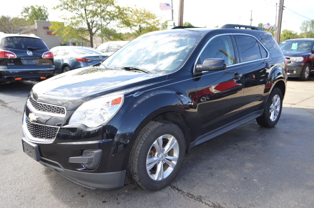 2012 CHEVROLET EQUINOX LT for sale in Eastlake, Ohio