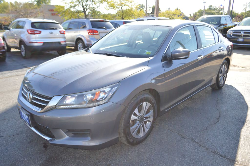 2013 HONDA ACCORD LX for sale in Eastlake, Ohio