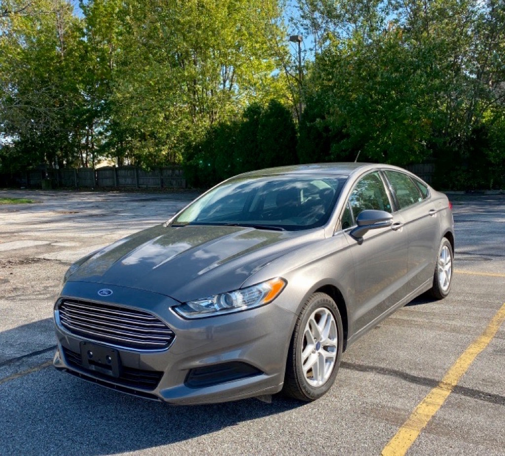 2014 FORD FUSION SE for sale in Eastlake, Ohio