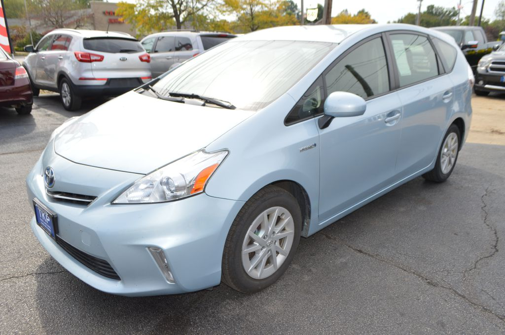 2012 TOYOTA PRIUS V for sale at TKP Auto Sales