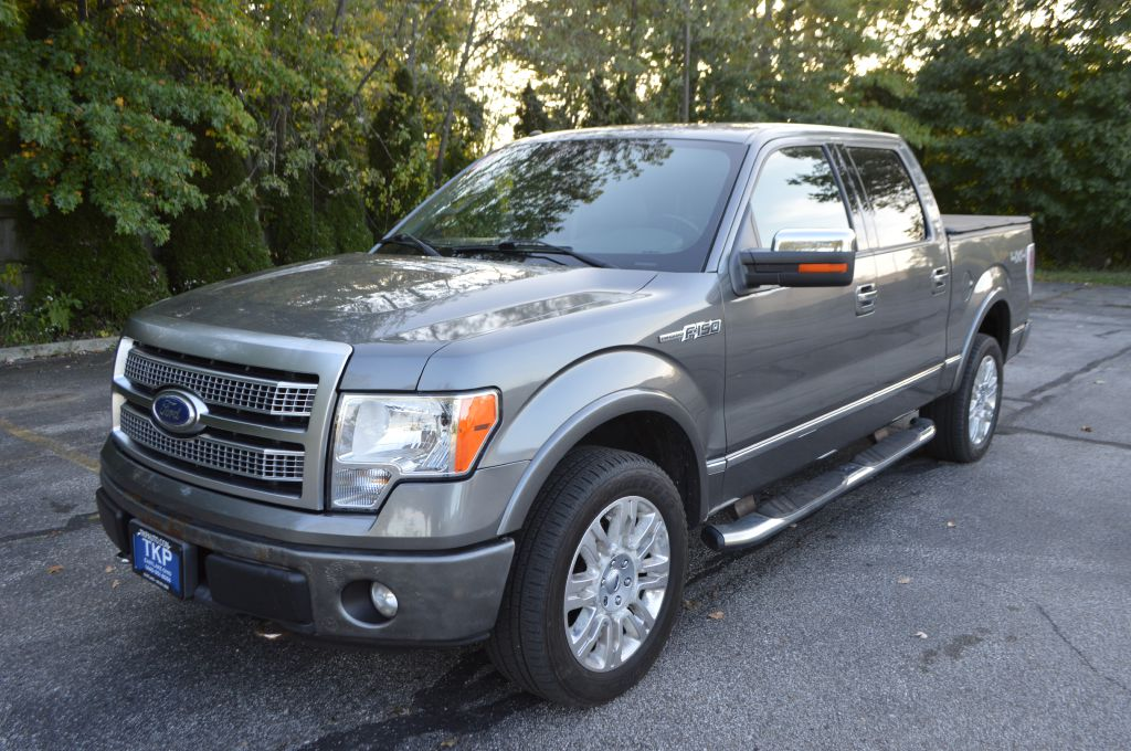 2011 FORD F150 PLATINUM SUPERCREW for sale in Eastlake, Ohio