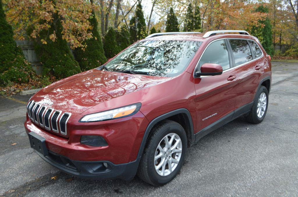 2015 JEEP CHEROKEE for sale at TKP Auto Sales