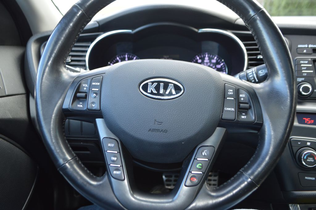 2011 KIA OPTIMA SX for sale at TKP Auto Sales