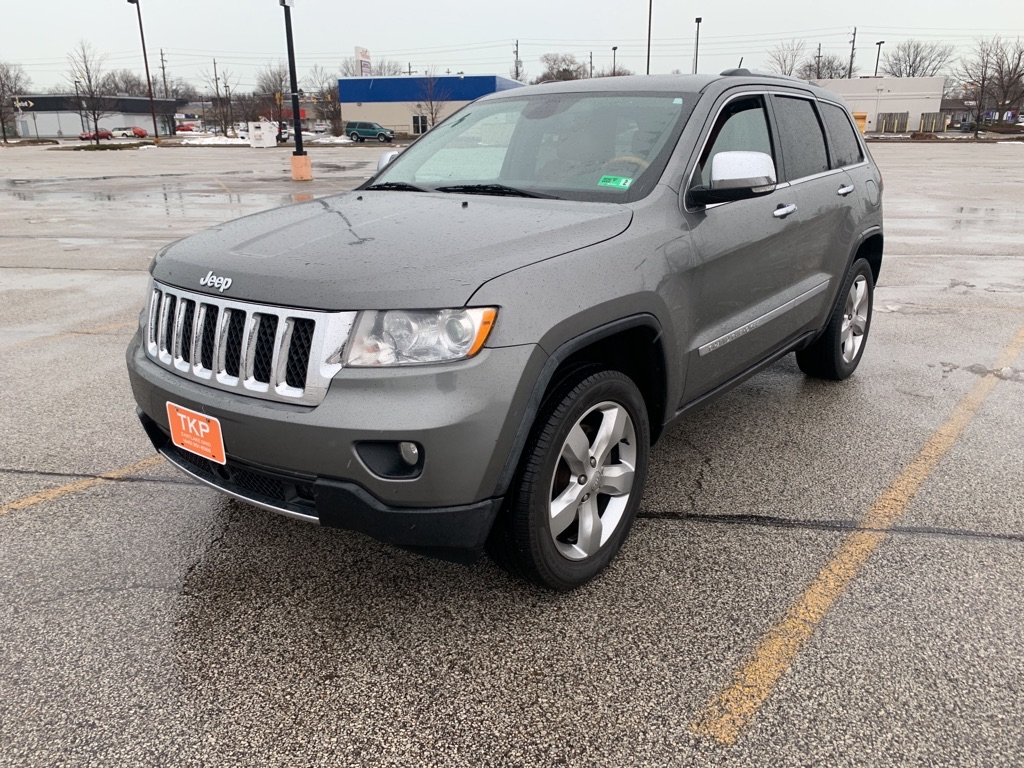 2011 JEEP GRAND CHEROKEE for sale at TKP Auto Sales