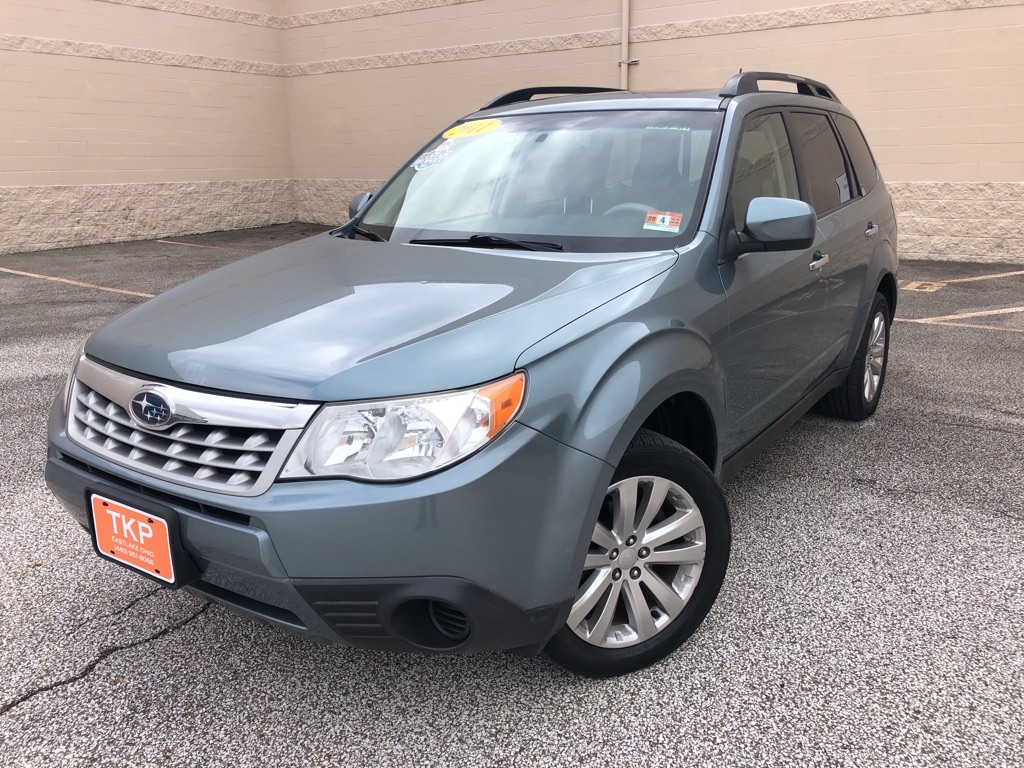 2011 SUBARU FORESTER for sale at TKP Auto Sales