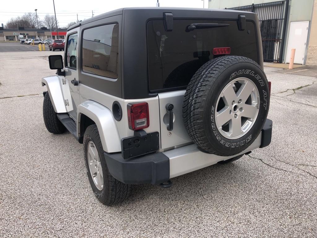 2011 JEEP WRANGLER SAHARA for sale at TKP Auto Sales
