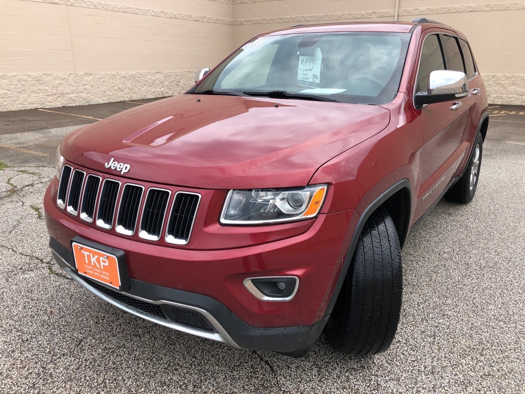 2015 JEEP GRAND CHEROKEE for sale at TKP Auto Sales