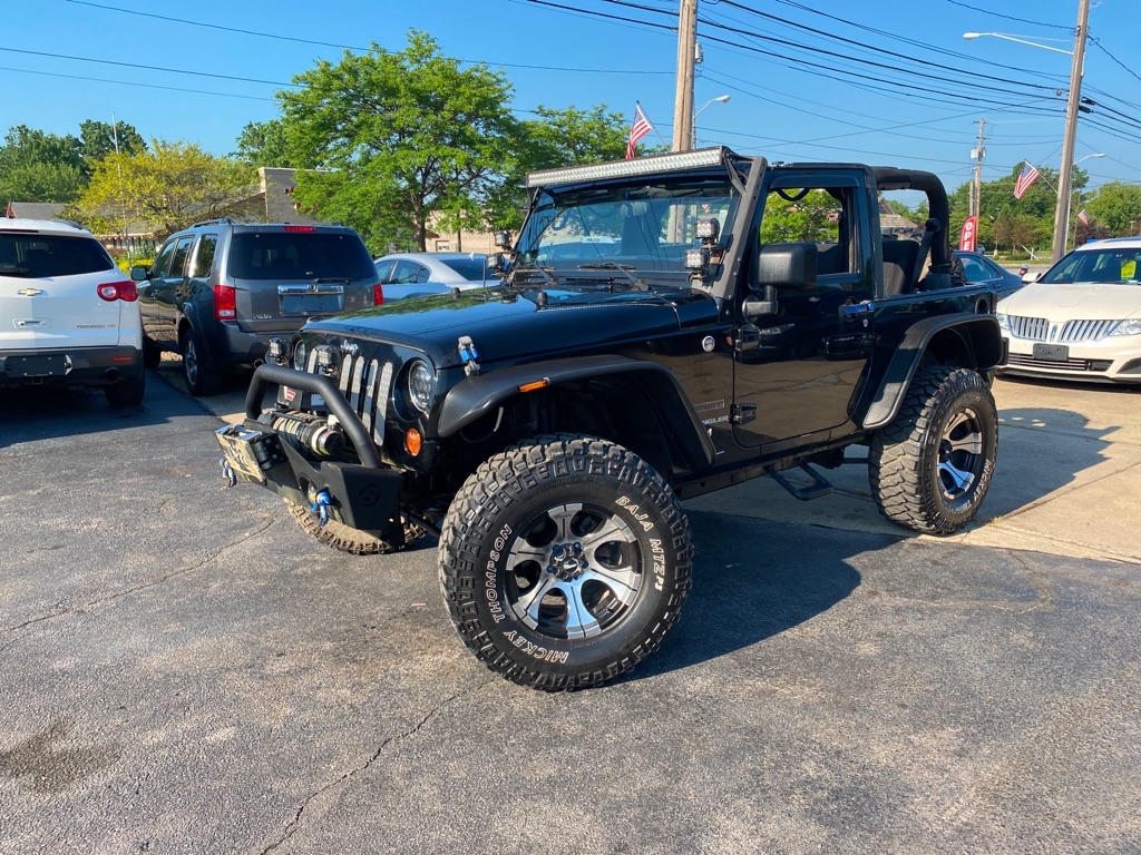 2011 JEEP WRANGLER for sale at TKP Auto Sales