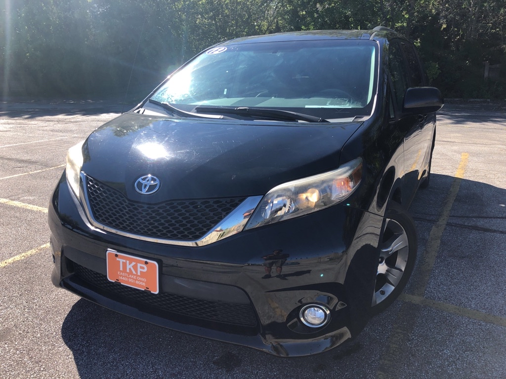 2012 TOYOTA SIENNA for sale at TKP Auto Sales