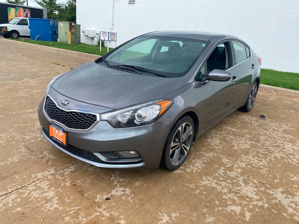 2015 KIA FORTE EX for sale in Eastlake, Ohio