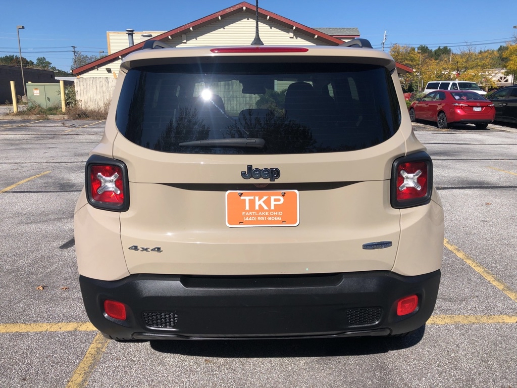 2015 JEEP RENEGADE LATITUDE for sale at TKP Auto Sales