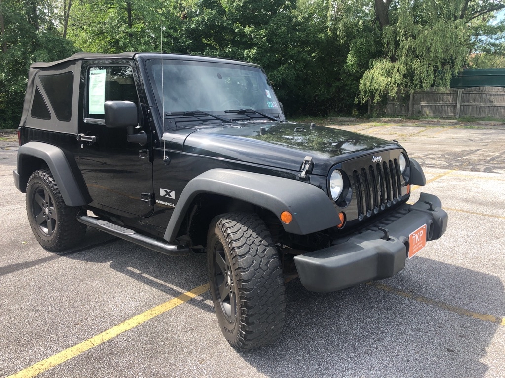2007 JEEP WRANGLER X for sale at TKP Auto Sales
