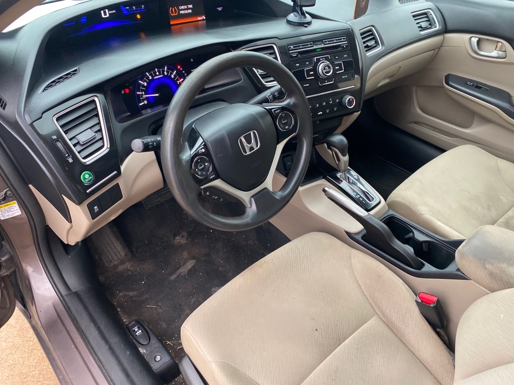 2013 HONDA CIVIC LX for sale at TKP Auto Sales