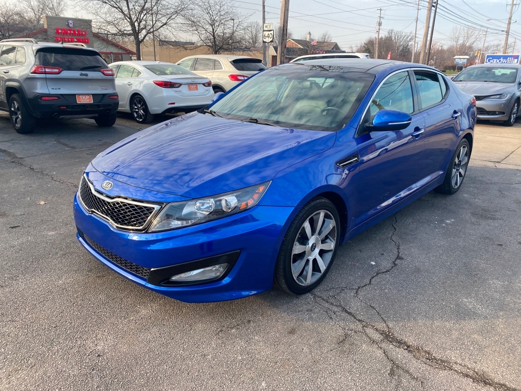 2011 KIA OPTIMA SX for sale in Eastlake, Ohio