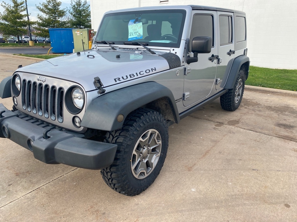 2015 JEEP WRANGLER UNLIMI for sale at TKP Auto Sales