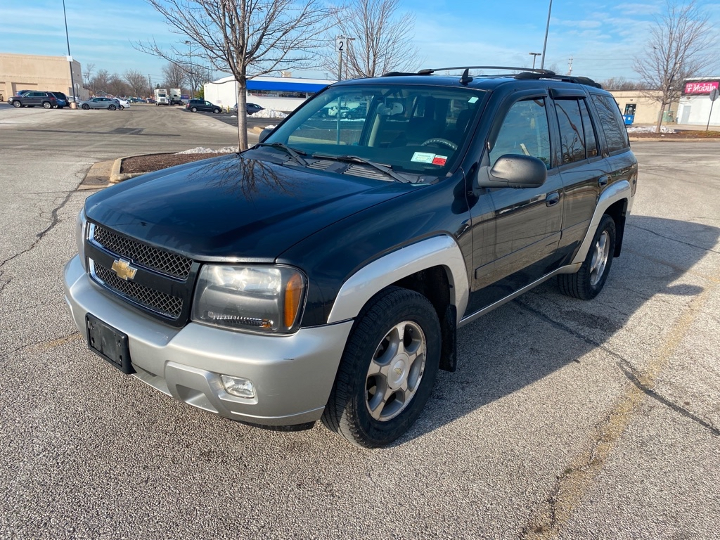2008 CHEVROLET TRAILBLAZER LT for sale in Eastlake, Ohio