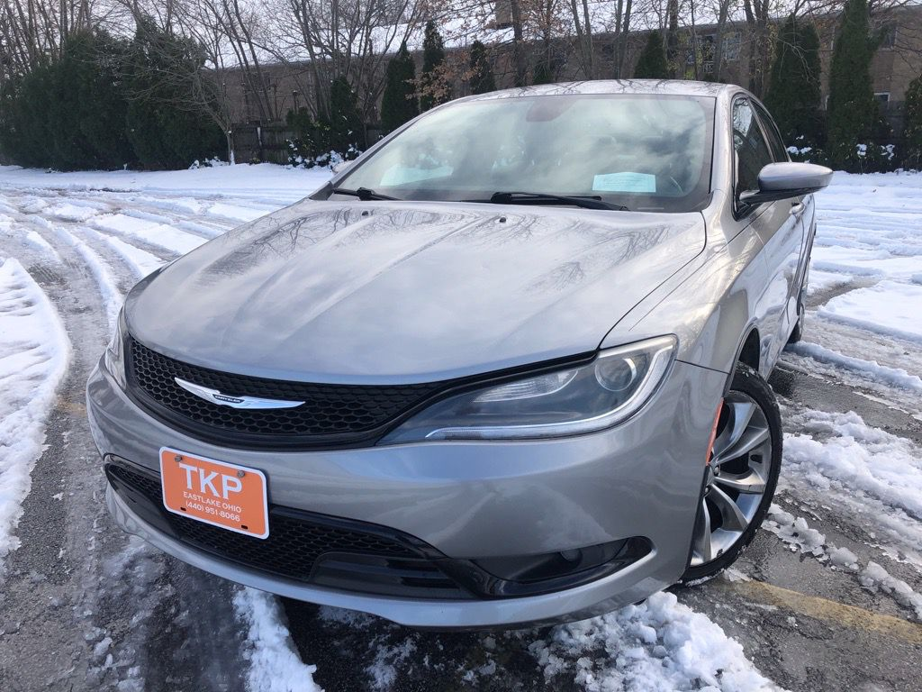 2015 CHRYSLER 200 for sale at TKP Auto Sales