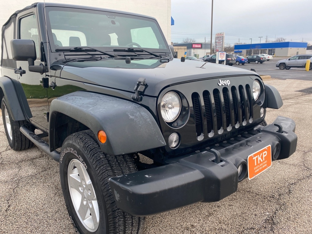 2014 JEEP WRANGLER SPORT for sale at TKP Auto Sales