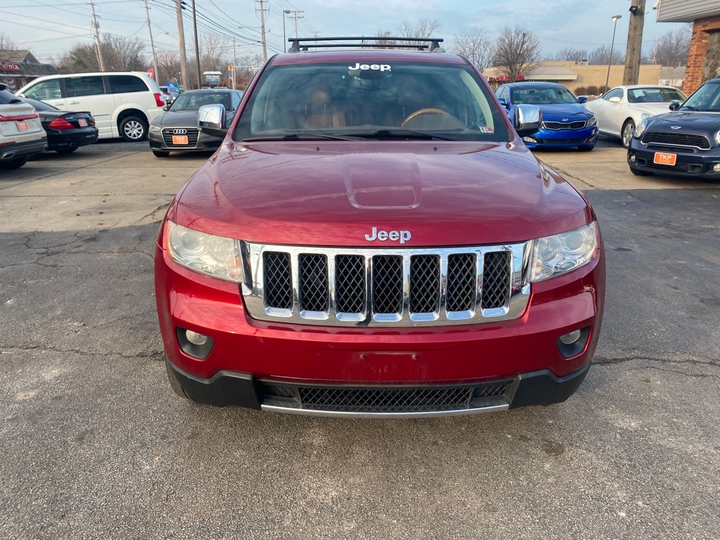 2012 JEEP GRAND CHEROKEE OVERLAND for sale at TKP Auto Sales