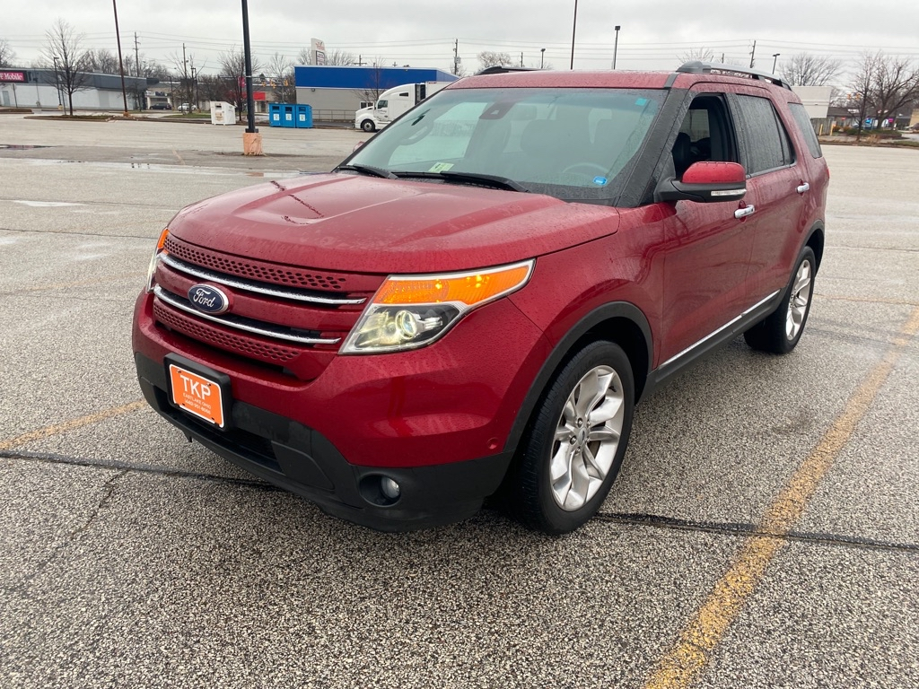 2014 FORD EXPLORER LIMITED for sale in Eastlake, Ohio