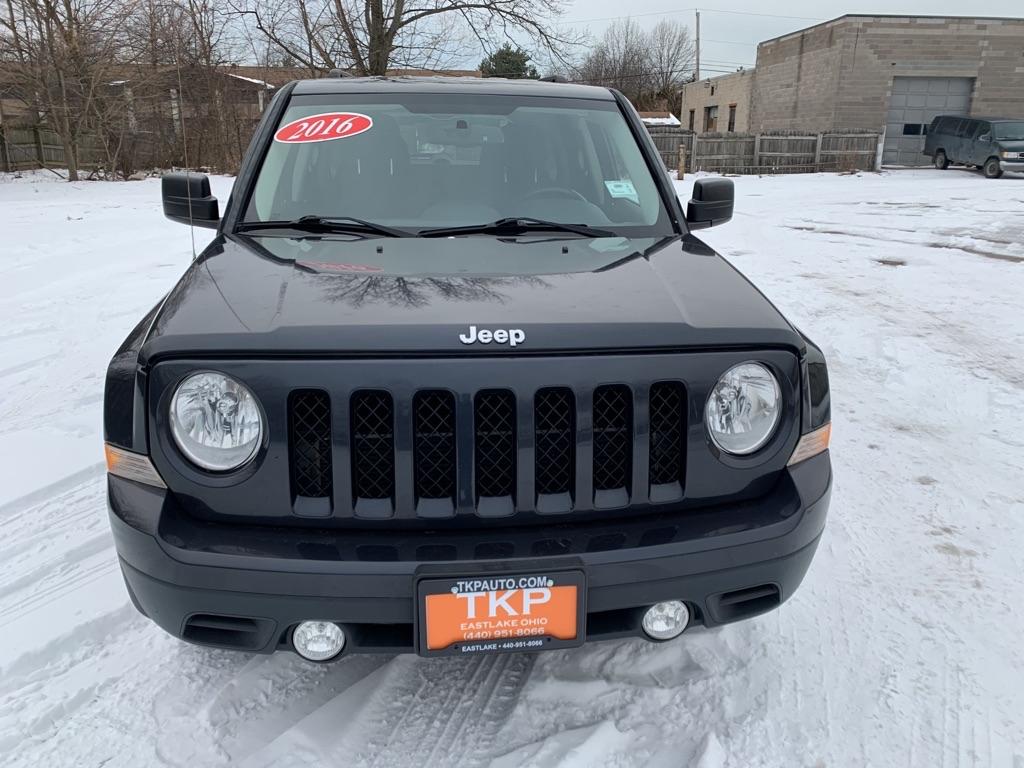 2016 JEEP PATRIOT LATITUDE for sale at TKP Auto Sales