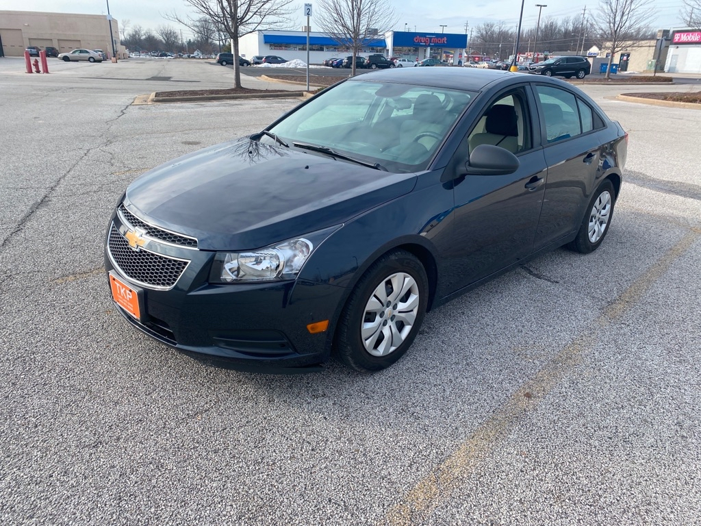 2011 CHEVROLET CRUZE for sale at TKP Auto Sales