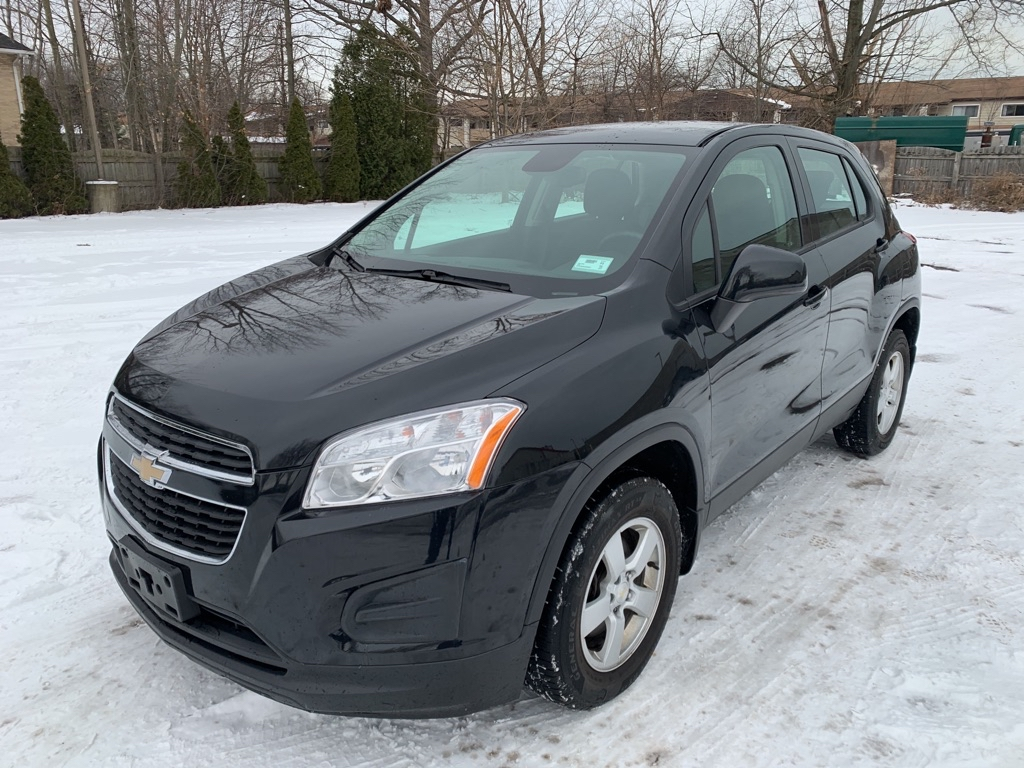 2016 CHEVROLET TRAX LS for sale in Eastlake, Ohio