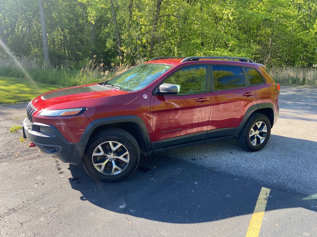 2014 JEEP CHEROKEE TRAILHAWK for sale at TKP Auto Sales