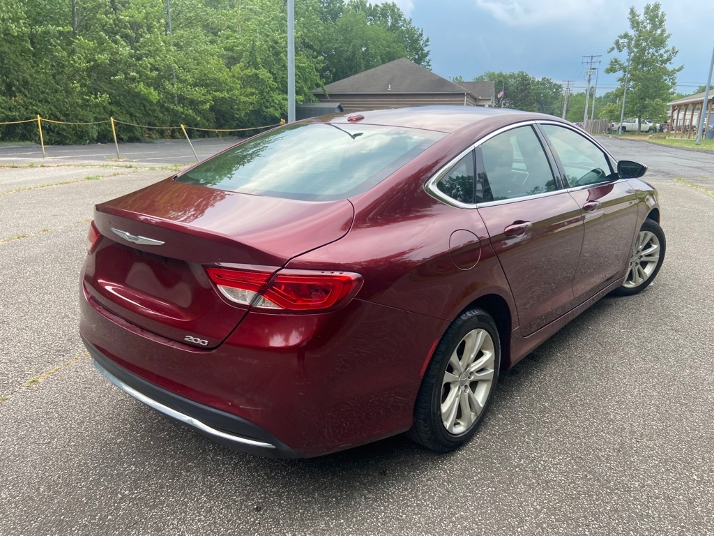 2015 CHRYSLER 200 LIMITED for sale at TKP Auto Sales