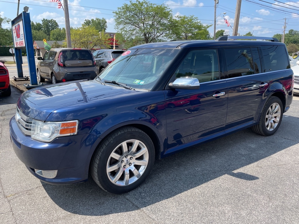 2012 FORD FLEX for sale at TKP Auto Sales