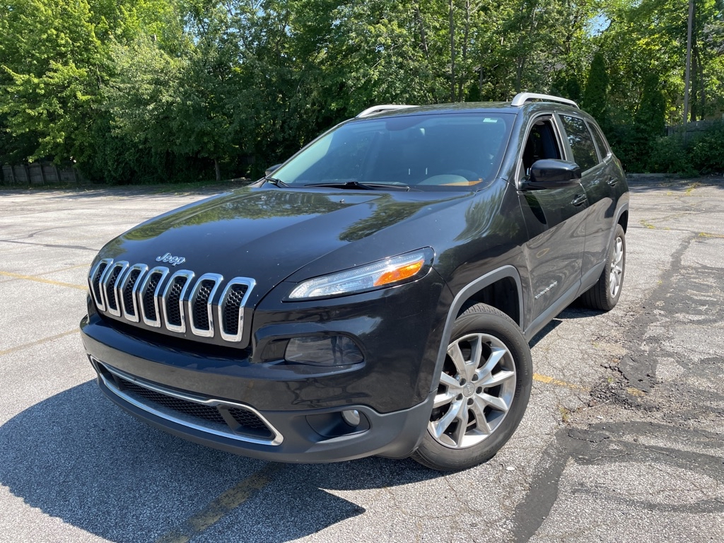 2014 JEEP CHEROKEE LIMITED for sale in Eastlake, Ohio