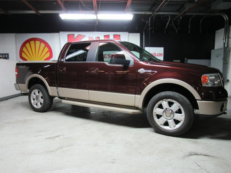 2008 FORD F150 4WD SUPERCREW for sale at KNH Auto Sales