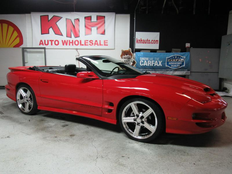 2002 PONTIAC FIREBIRD TRANS AM for sale at KNH Auto Sales