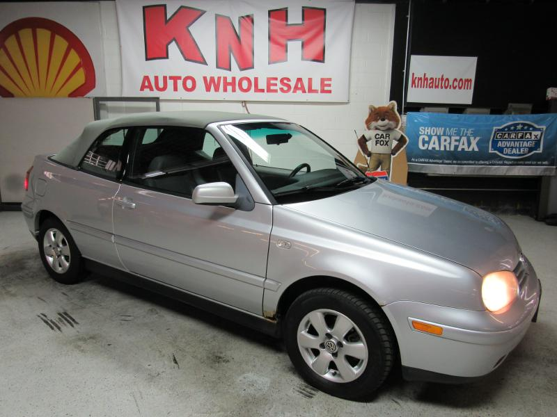2002 VOLKSWAGEN CABRIO GLX for sale at KNH Auto Sales