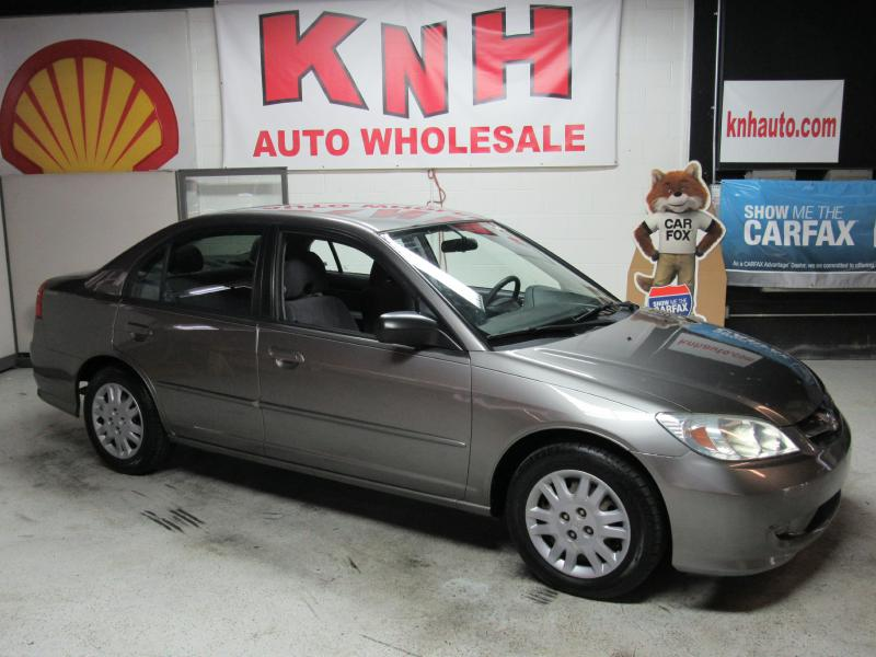2004 HONDA CIVIC LX for sale at KNH Auto Sales