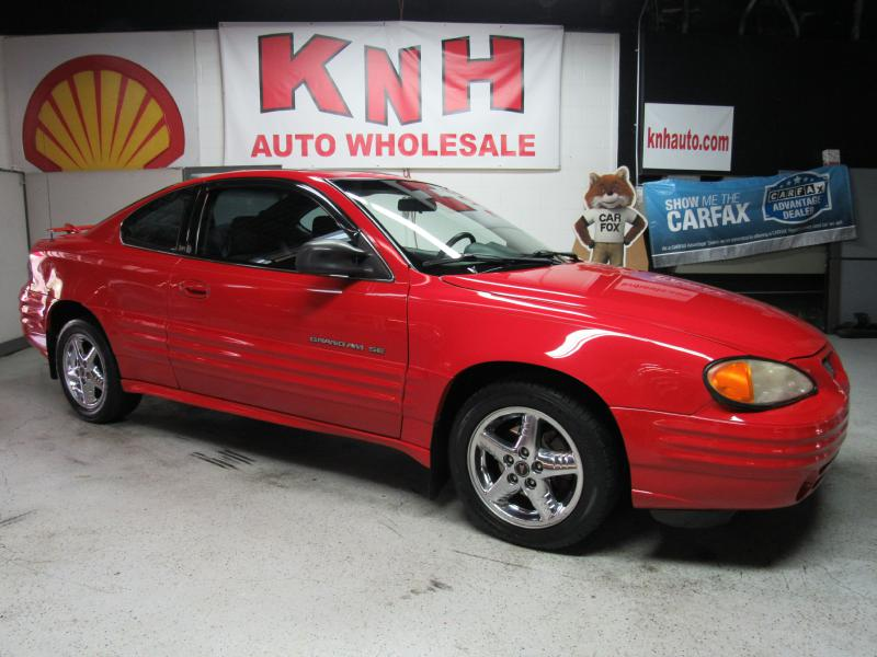 2000 PONTIAC GRAND AM SE for sale at KNH Auto Sales