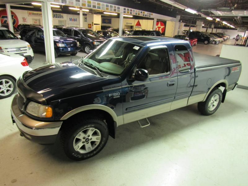 2002 FORD F150  for sale at KNH Auto Sales