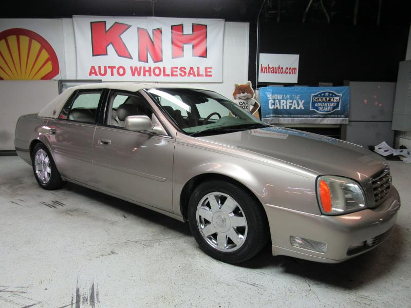 2003 CADILLAC DEVILLE DTS for sale at KNH Auto Sales