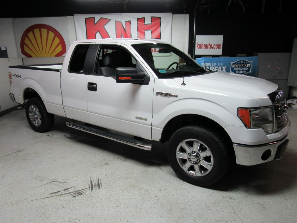 2013 FORD F150 SUPER CAB for sale at KNH Auto Sales