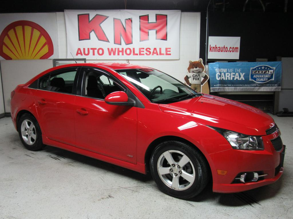 2013 CHEVROLET CRUZE LT for sale at KNH Auto Sales