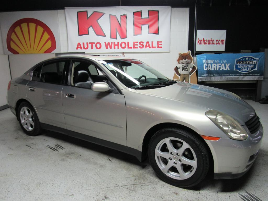 2004 INFINITI G35 4 dr for sale at KNH Auto Sales