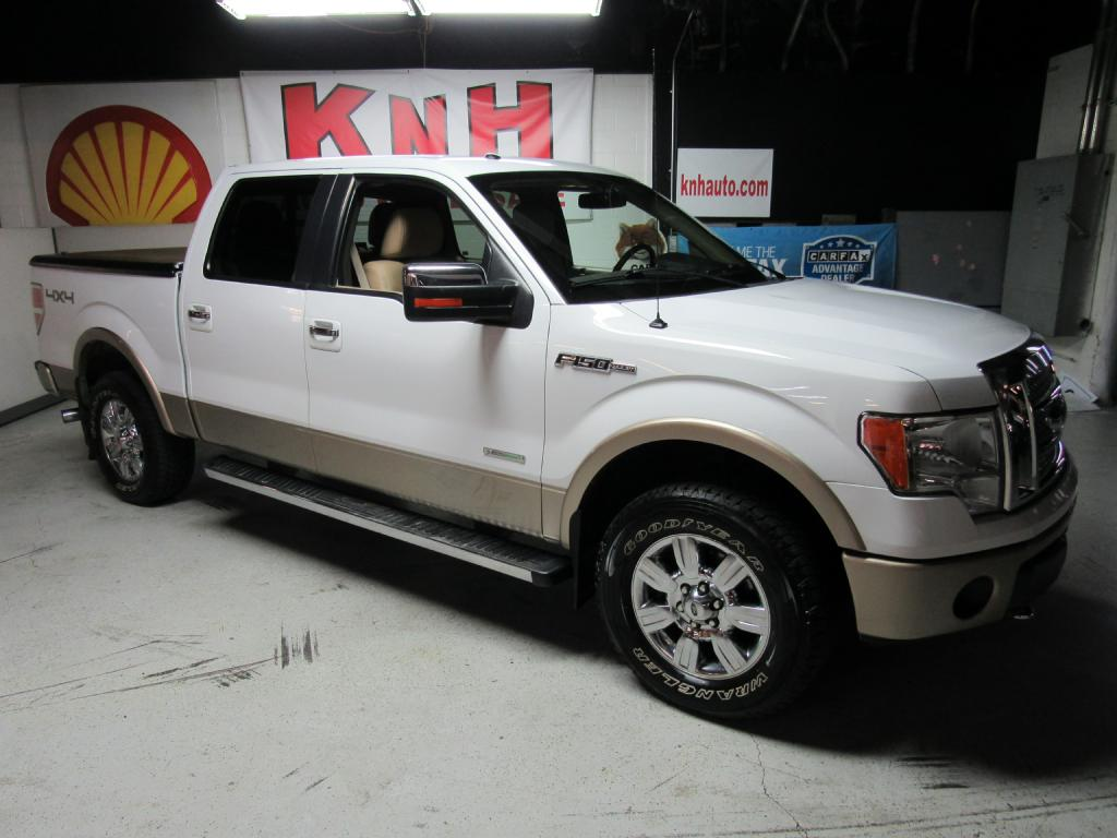 2011 FORD F150 SUPERCREW for sale at KNH Auto Sales