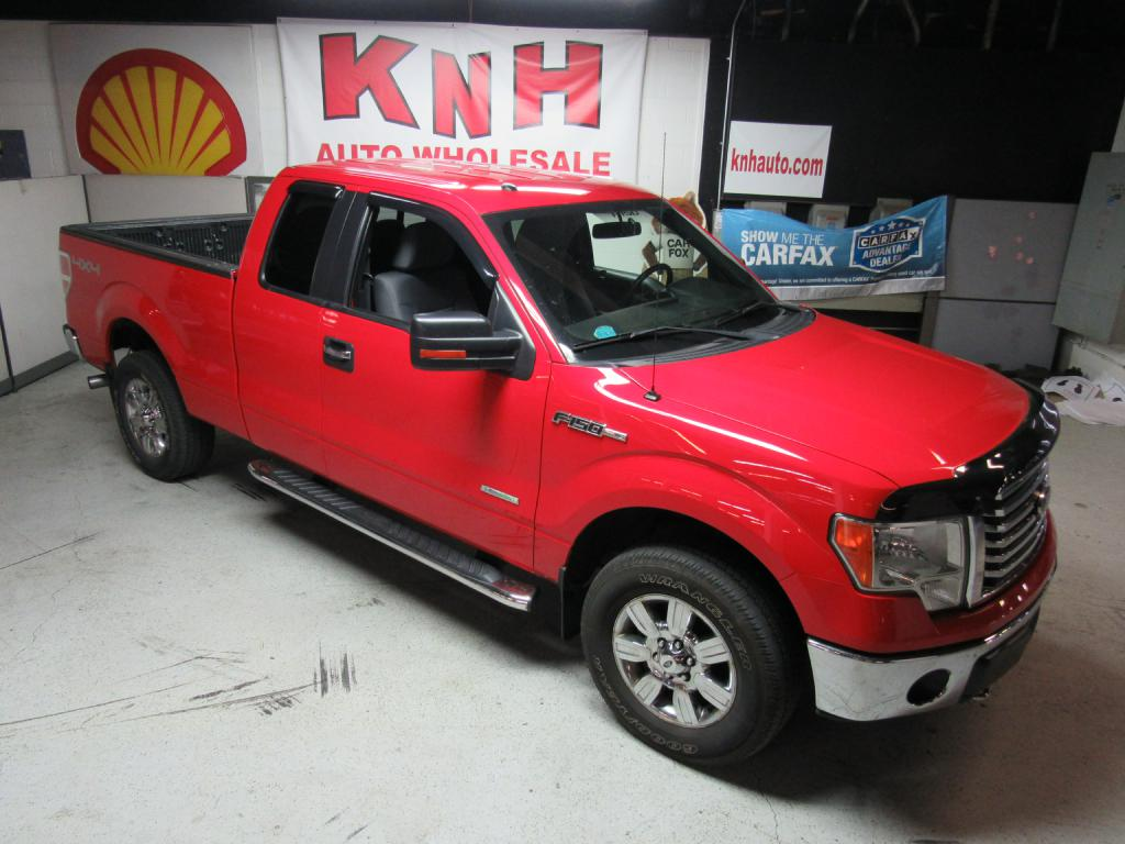 2011 FORD F150 SUPER CAB for sale at KNH Auto Sales