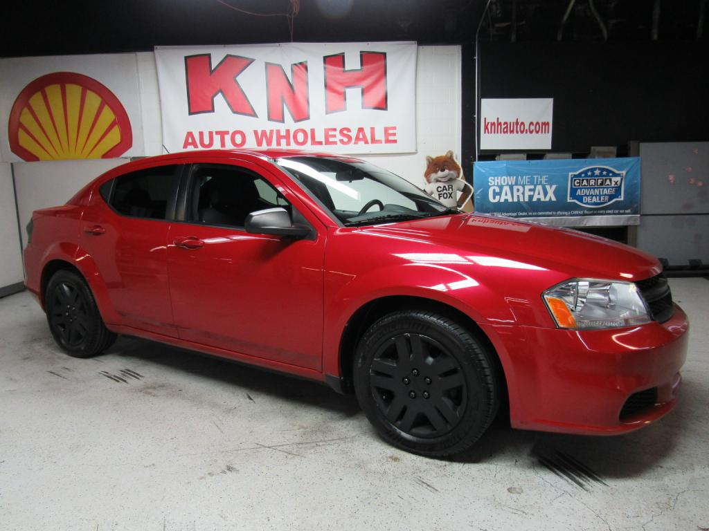 2013 DODGE AVENGER SE for sale at KNH Auto Sales