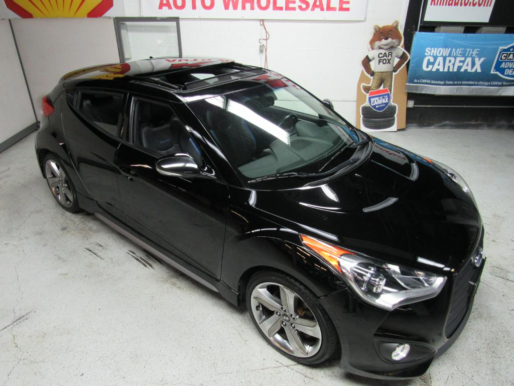 2013 HYUNDAI VELOSTER TURBO for sale at KNH Auto Sales