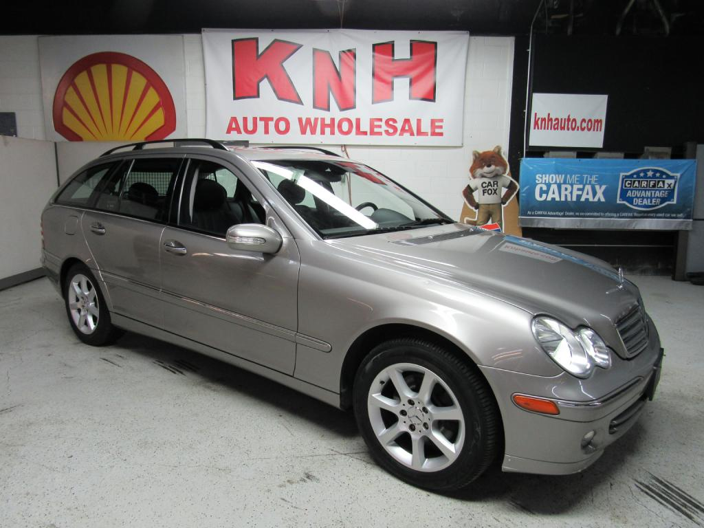 2005 MERCEDES-BENZ C-CLASS C240 SPORTWAGON 4MATIC for sale at KNH Auto Sales