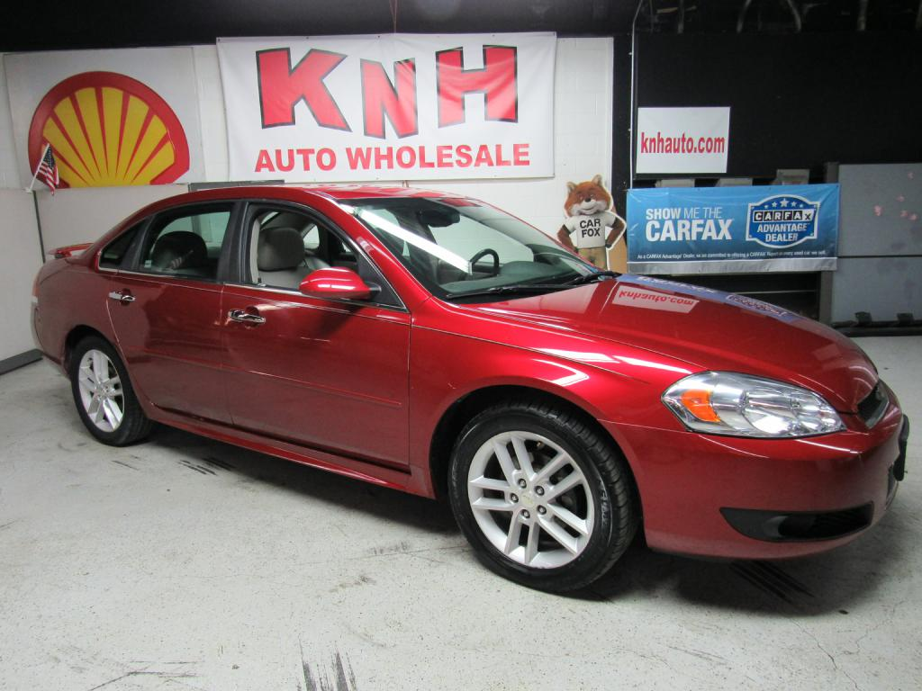 2013 CHEVROLET IMPALA LTZ for sale at KNH Auto Sales