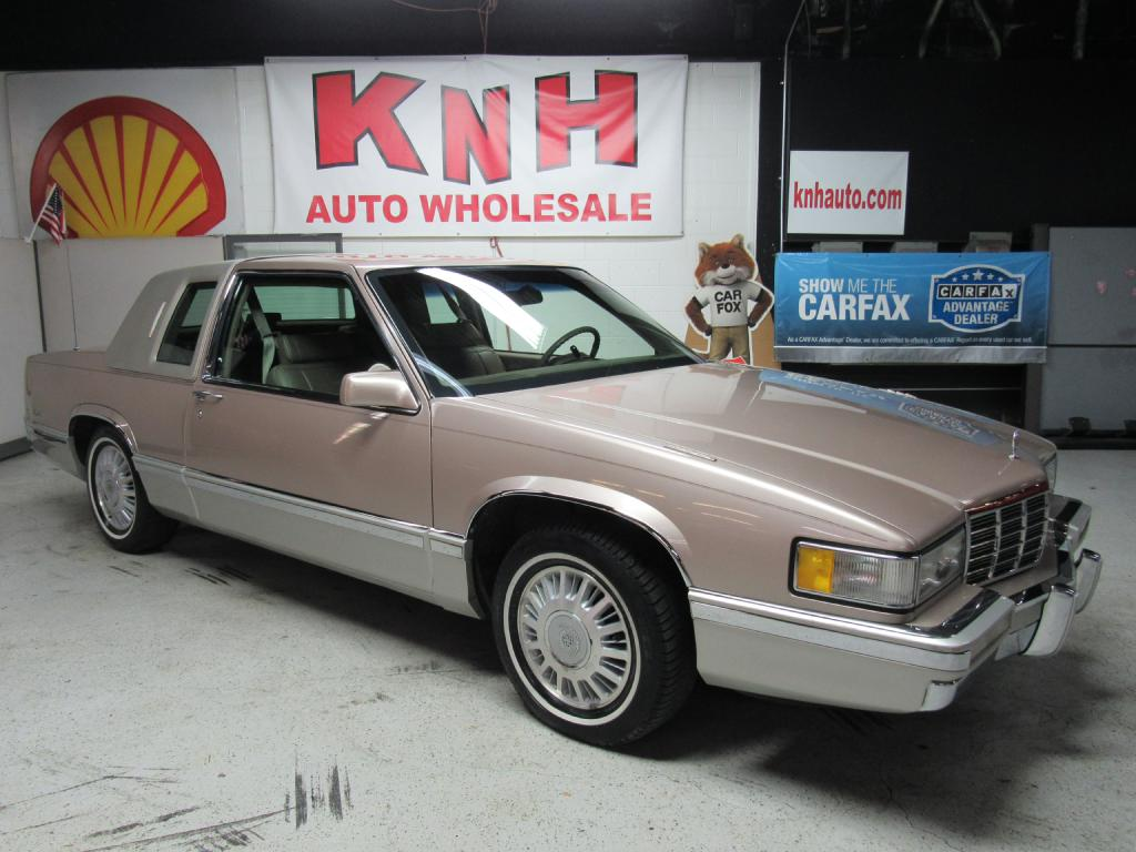 1991 CADILLAC DEVILLE  for sale at KNH Auto Sales