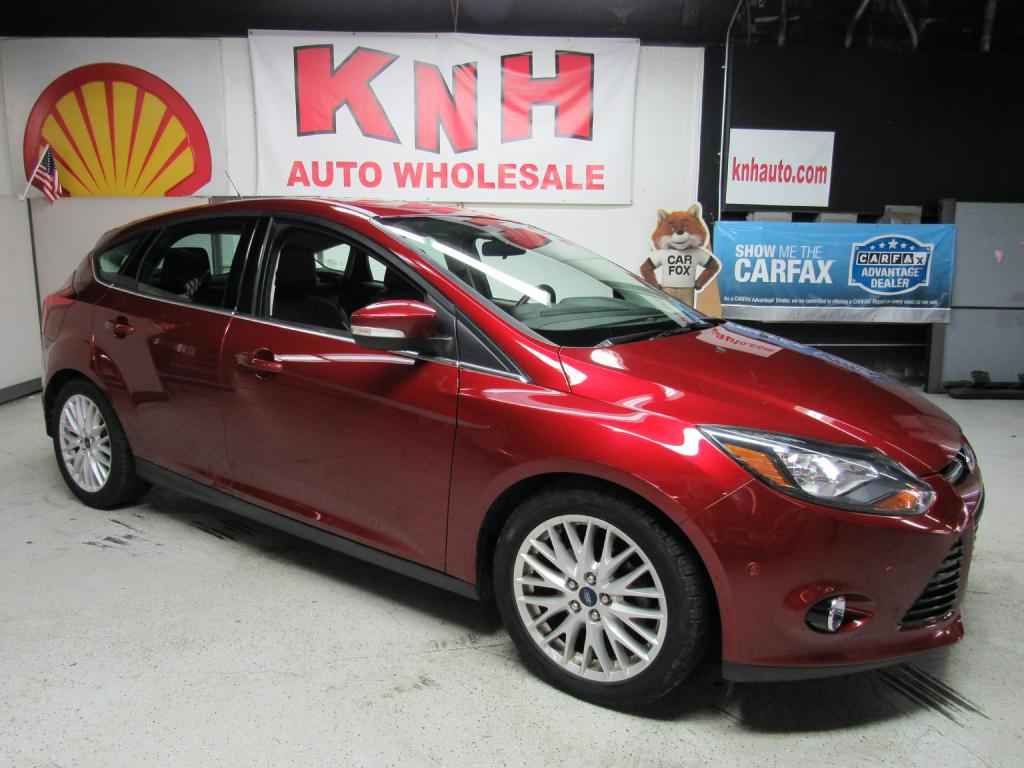 2014 FORD FOCUS TITANIUM for sale at KNH Auto Sales